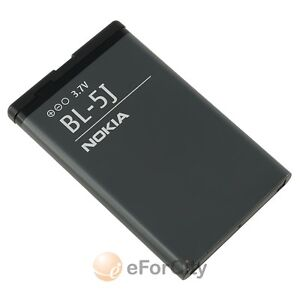 Nokia BL-5J Battery For 5800 XpressMusic, N900 5230 Nuron X6 C3 5233 5228 5235