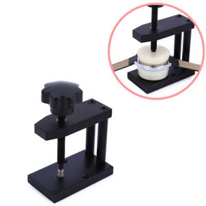 Watch Crystal Front Back Case Cover Screw Press Presser Closing Tool + 12 D WW