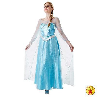 Damen Disney Prinzessin Kostüme (RUB 3810243 Disney Lizenz Damen Kostüm Elsa die Eiskönigin Prinzessin S M L)