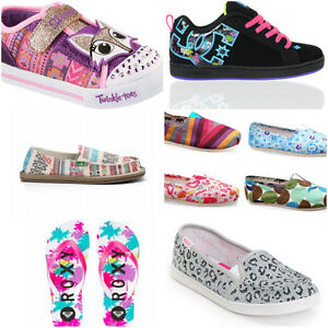 I am looking for girls brand name shoes and clothing