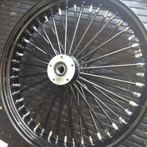 "Black 21"" Wheel for Harley Touring - cosmetic"