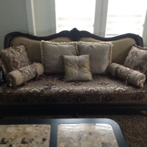 One year old Great condition matching sofa sets