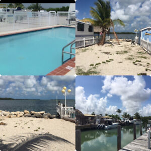 Lot for rent for your RV in Key Largo , Florida