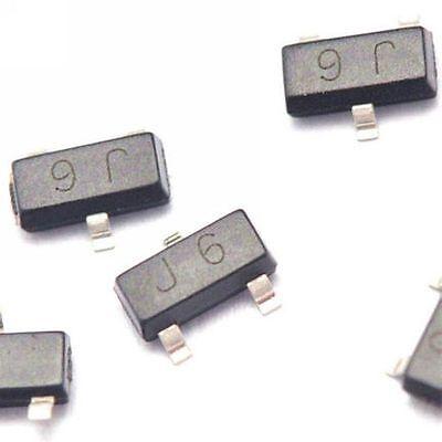 100pcs S9014 J6 0.1a45v Npn Sot23 Smd Transistor