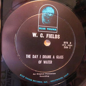 W.C. FIELDS - Authentics Recordings of the Great... *RARE VINYL* Kitchener / Waterloo Kitchener Area image 2