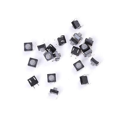 20pcs 8x8x5mm 4pin Tactile Push Button Micro Switch Direct Self Reset Soundless