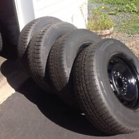 "17"" Ford F-150 rims & tires"