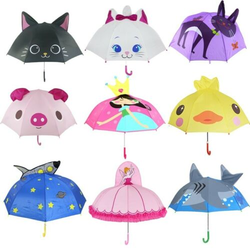 Kids Umbrella Rain New Colors For Child Rain C Folding Windproof Sun Woman Girls