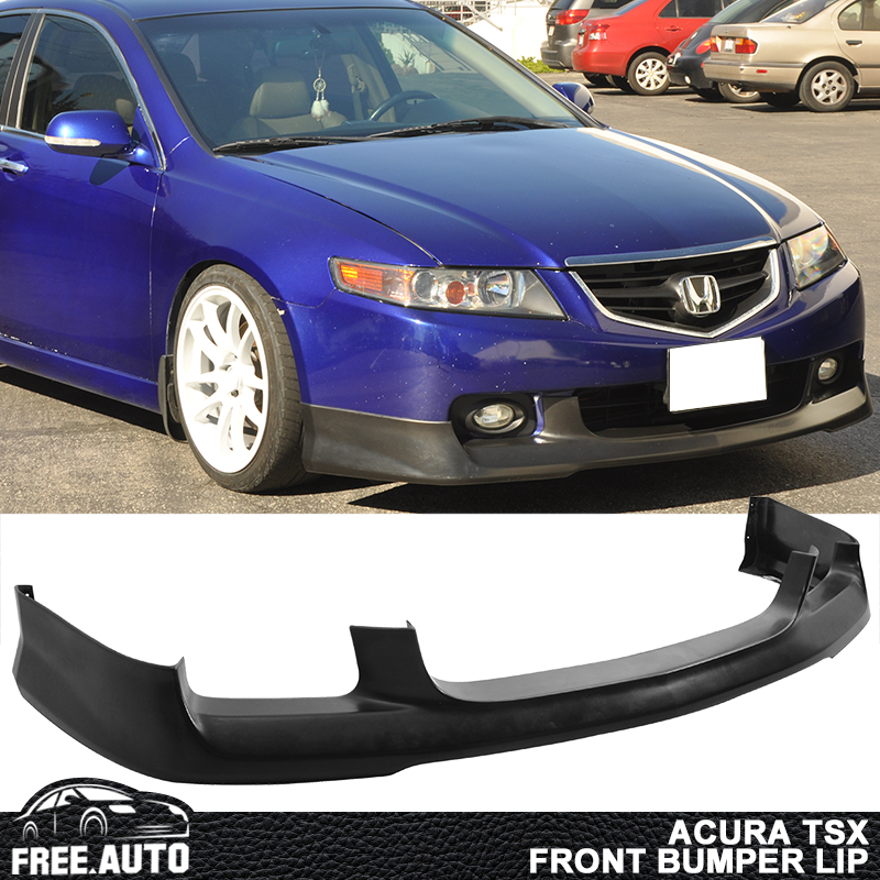 Fits 04-05 Acura TSX OE Style Front Bumper Lip Unpainted