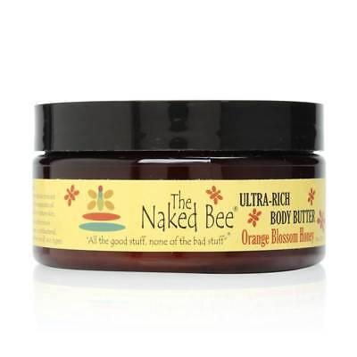 Bee Moisturizing Orange Blossom Honey - The Naked Bee Orange Blossom Honey Ultra-Rich Body Butter, 8.0 oz