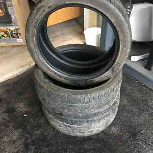 selling 3 used tires size 215-45R18