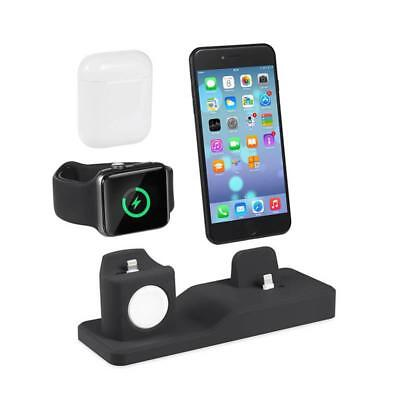 For Apple Watch / iPhone/Air Pods 3in1 QI Wireless Charger C