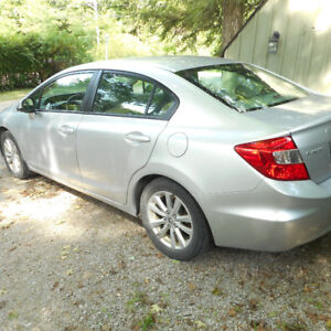 2012 SILVER HONDA CIVIC DX 4 DOOR AUTOMATIC