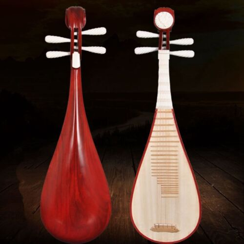 lute Liuqin - Chinese Soprano Pipa Dunhuang Musical Instrument / Adults #4854