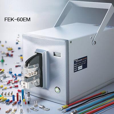Fek-60em 15kn Pneumatic Crimper Air Powered Wire Terminal Crimping Machine Tool
