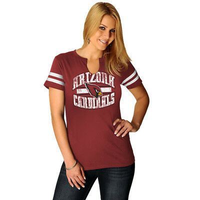 NFL Damen Shirt Arizona Cardinals Go for Two 2 Ladies Women's Girls Football ()