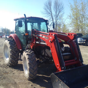 2014 Case IH 95c Farmall with Self-leveling Loader