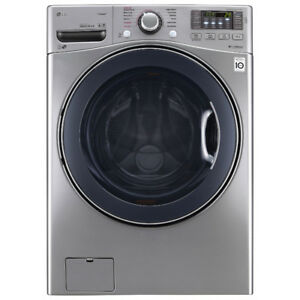 LG 5.2 cu.ft. Ultra Large Capacity Stackable Washer w/Steam