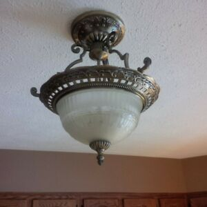 Ceiling light and matching chandelier