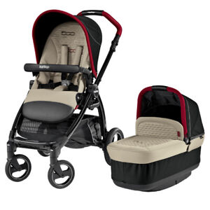 Peg Perego Fiat 500 Stroller and 4-35 infant car seat