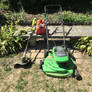 Lawn mower package.