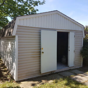 Stronghold Storage Shed, 12-ft x 18-ft
