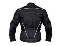 Raven motorcycle jacket armoured