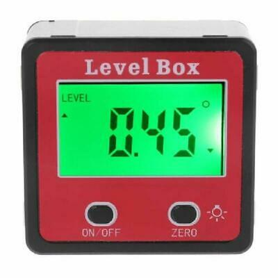 Digital Inclinometer Protractor Angle Gauge Meter Bevel Level Box With Magnet.