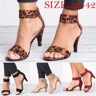 Lady Dance Shoe Ankle Strap Flat Casual Sandal Shoe Chunky Low/Mid Heel Dress