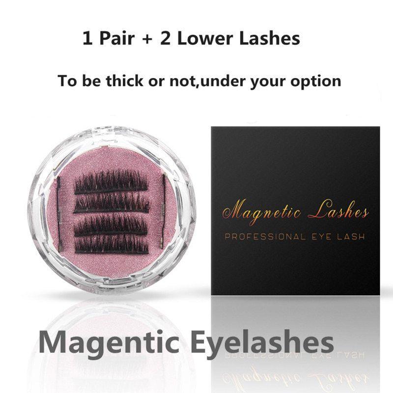 Gam-Belle® 4pcs/set + 2pcs Lower Lashes 3D Mink Magnetic Ey