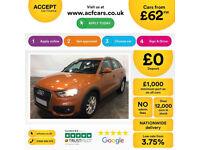 Audi Q3 FROM £62 PER WEEK!