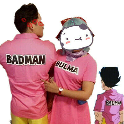 Halloween Dragon Ball Z Vegeta Badman Man Costume Cosplay Anime blouse Shirt
