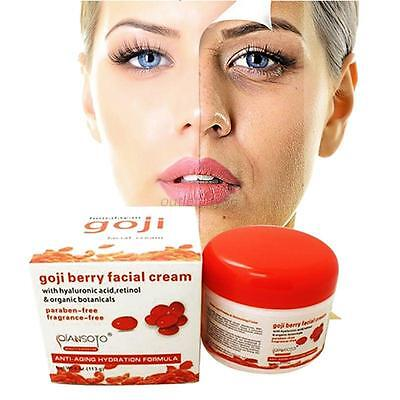 Goji Cream Women Moisturizing Face Cream Anti Aging Reduce Wrinkles Skin Cream