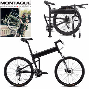 NEW IN BOX MONTAGUE FOLDING MOUNTAIN BIKE 27 SPEED