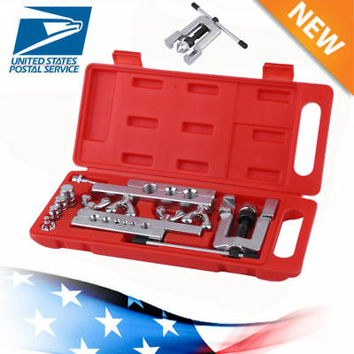 Hvac Flaring And Swaging Tool Kit Flares Od Soft Refrigeration Copper Tubing Us