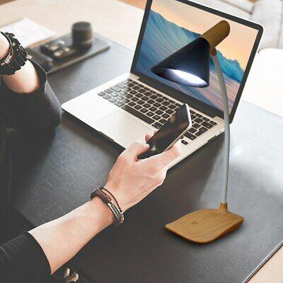 LED Adjustable Desk Lamp Wood Reading Task Table Light Usb Rechargeable LLED