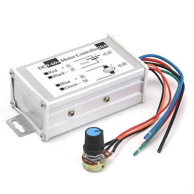 Dc9v - 60v Max 20a Pwm Motor Stepless Variable Speed Control Controller Switch