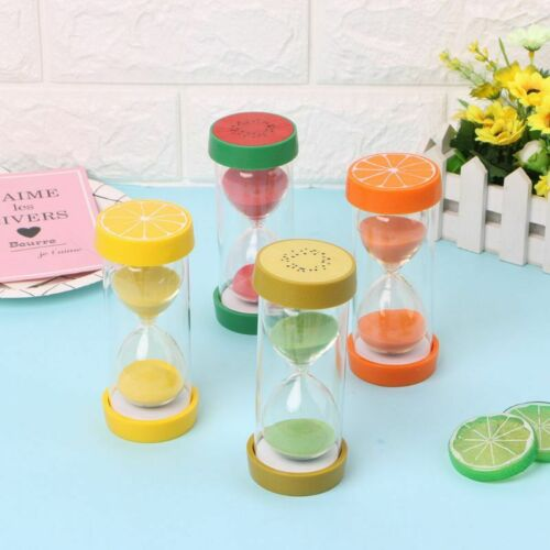 15 Minutes Hourglass Fruit Timer Clock Desk Ornaments Kitche
