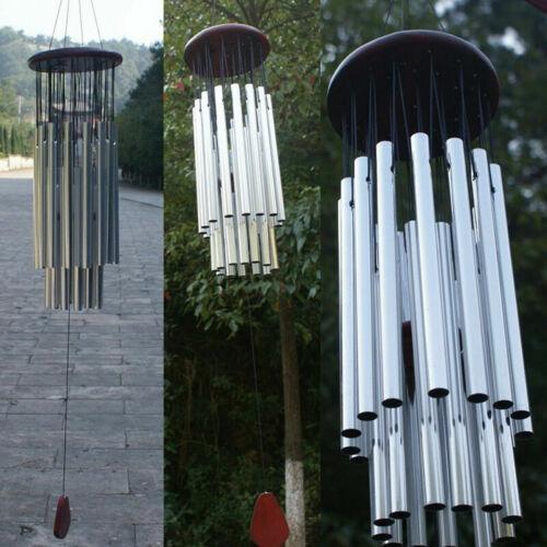 Windspiel Klangspiel 27 Klangröhren Feng Shui Windharfe Haus Garten Deko Heiß
