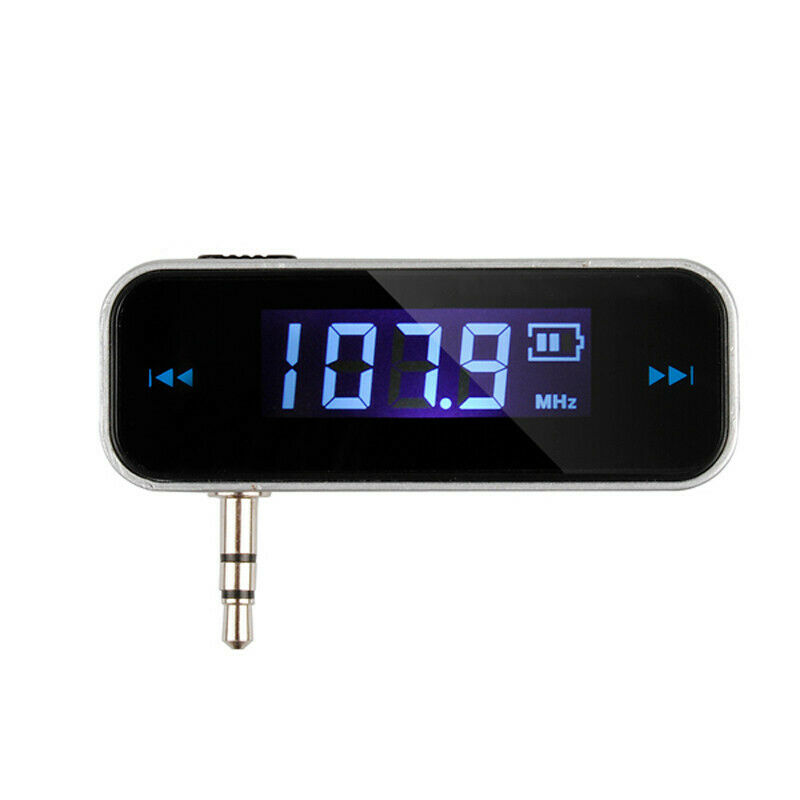 Wireless 3.5mm FM Transmitter For Car Aux MP3 MP4 IPOD iPhone Hands Free
