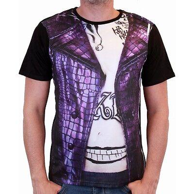 de Squad Costume Kostüm Männer Men T-Shirt (Joker Kleidung)