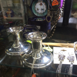 Stirling candle holders