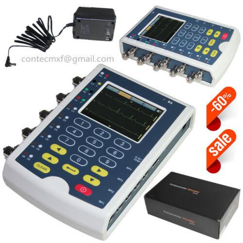 USA Fedex Touch Screen ECG Simulator Multiparameters Patient Simulation MS400