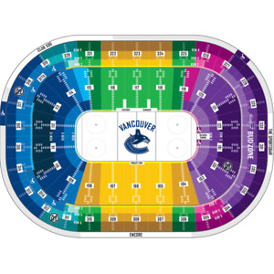 Vancouver Canucks 2017/18 Tickets - CENTRE ICE BELOW FACE VALUE!