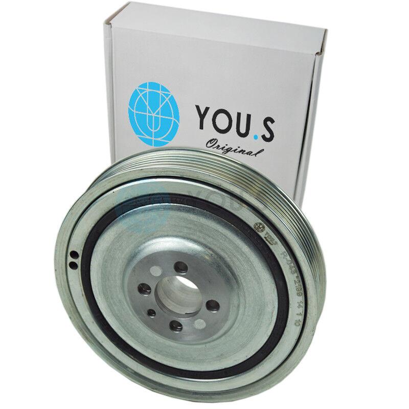 YOU.S Genuine Belt Pulley Crankshaft for Alfa Romeo Mito (955_) 1.6 Jtdm