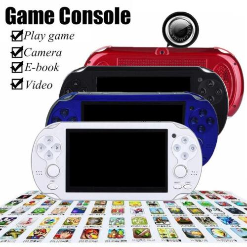 как выглядит Portable Handheld 4.3 8GB 32Bit Built-In 1000 Games MP4 MP5 Video Game Console фото