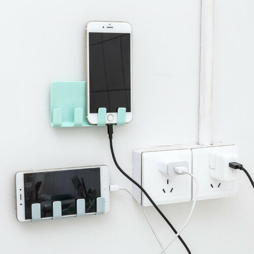 Mobile Phone Holder Bracket Stands Wall Charger Mount Suppor