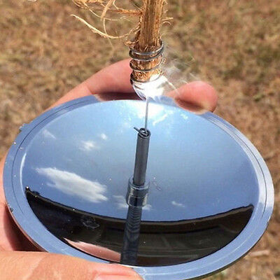 Hot~Gather Mirror Solar Ignition Outdoor Camping Hunting Survival Fire Lighter