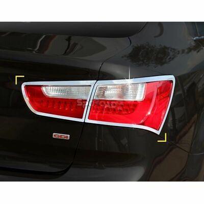 K-583 Car Chrome Rear Lamp Cover for KIA RIO/All New Pride 4DR Sedan 2012+