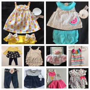 Baby girl clothes 0-6 months clothes (ALL BRAND NEW!!)